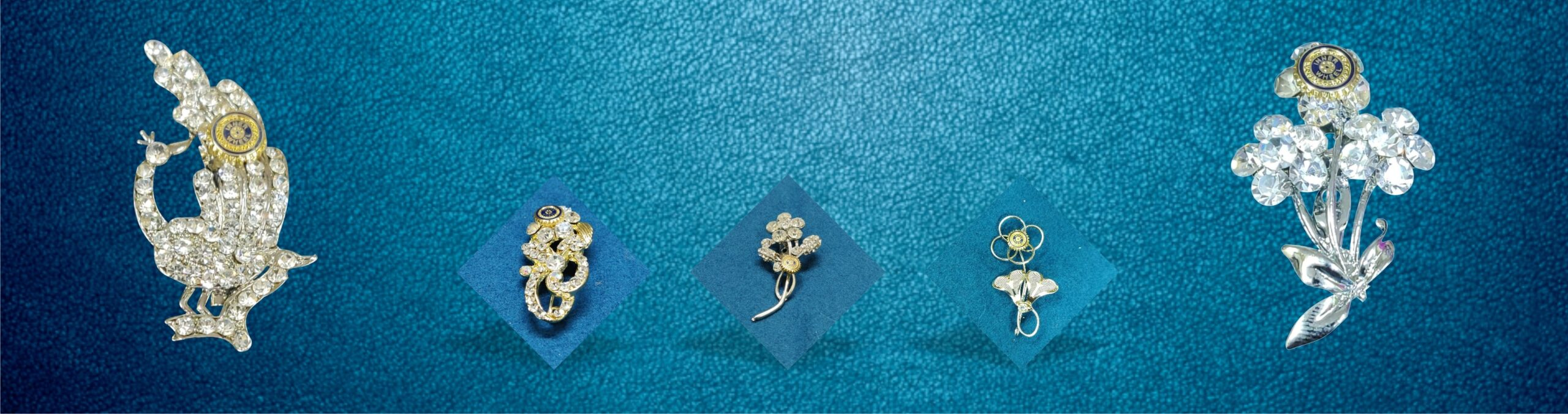 IW Brooches